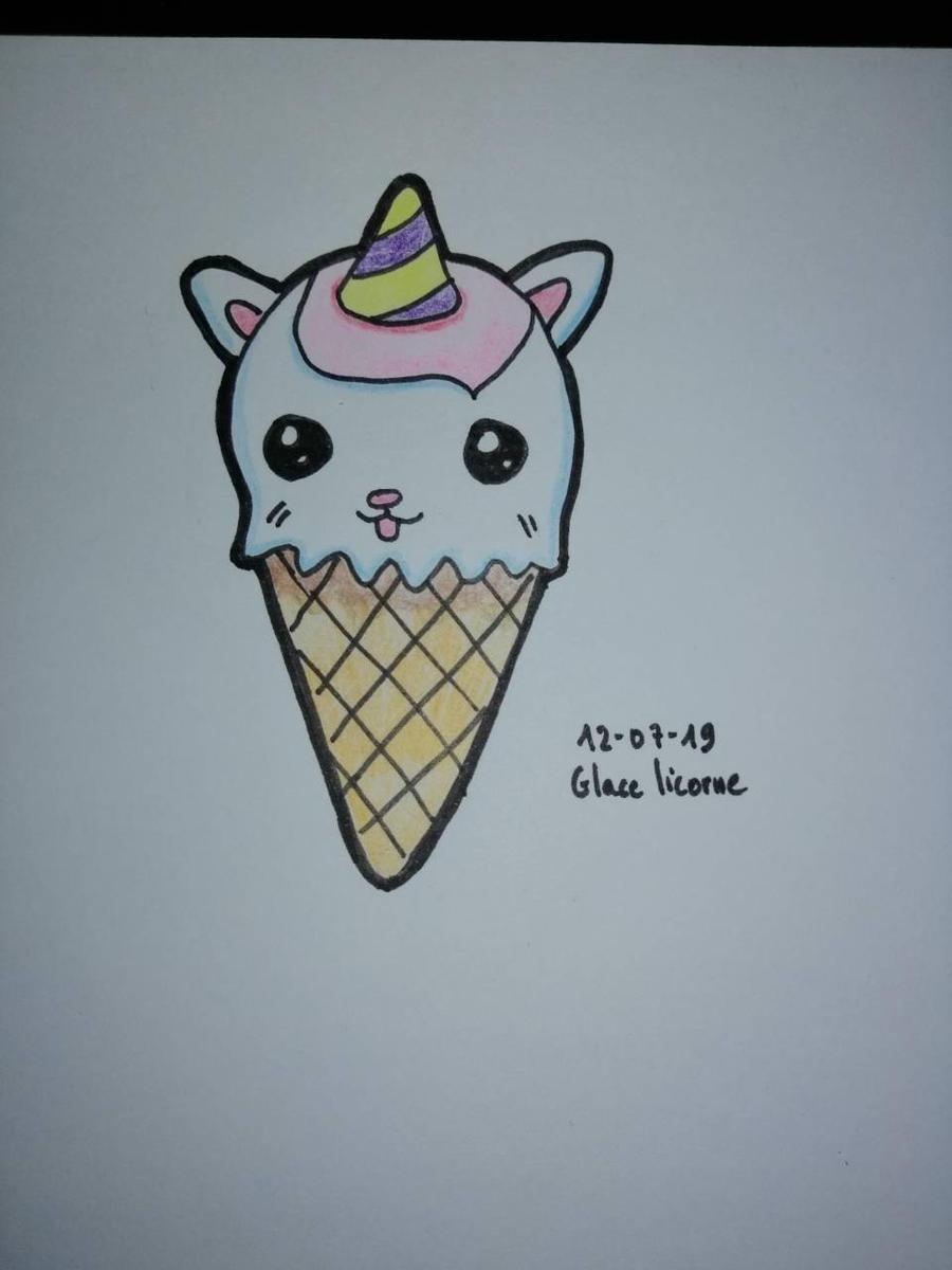 Unicorn Ice Cream By Lesdessinsdantoine On Deviantart