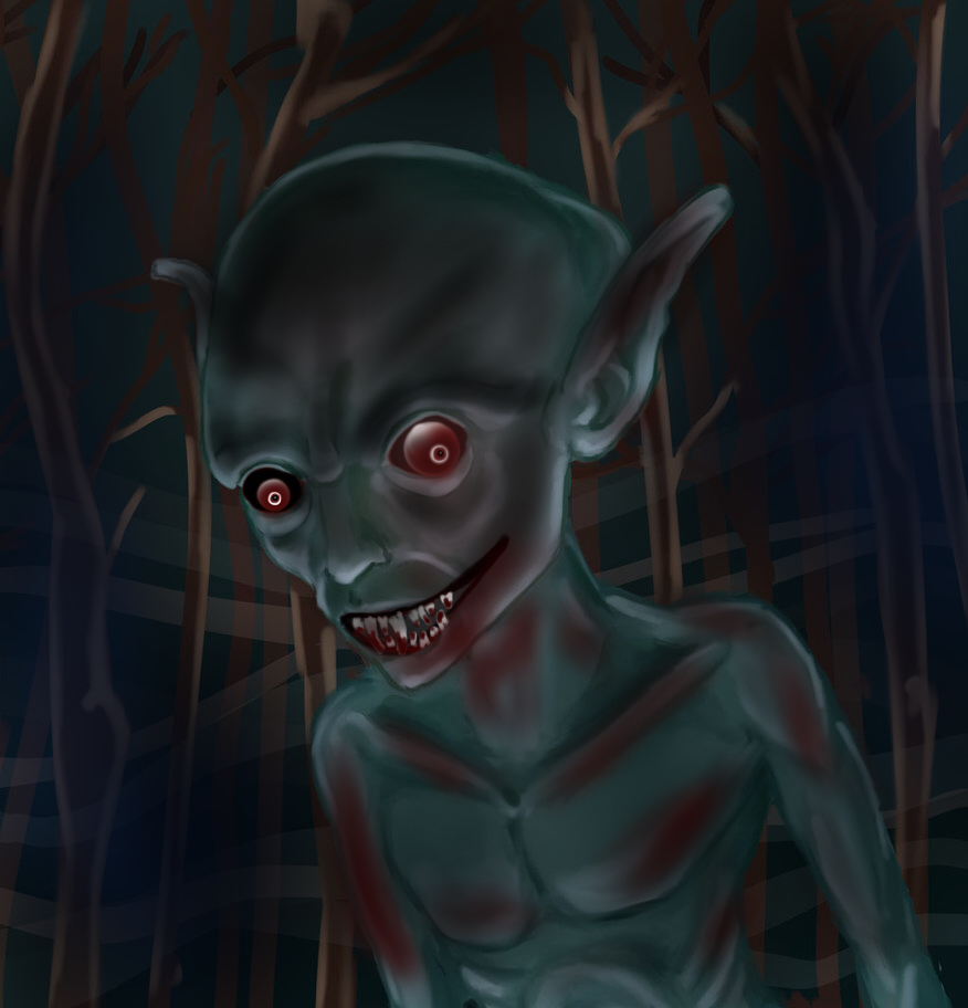 CREATURE OF THE NIGHT by simnionadizon