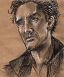 portrait practice - Paul McGann as the Doctor