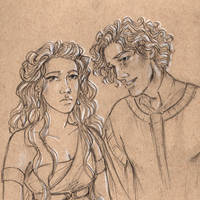 Galadriel and Finrod by oboe-wan
