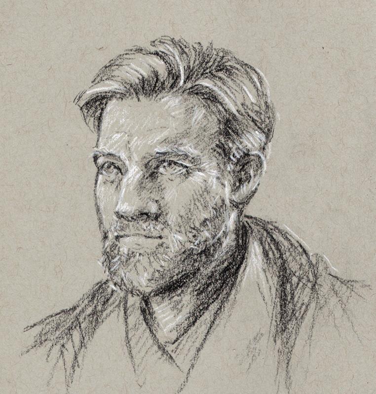 Ewan McGregor as Obi-Wan Kenobi by oboe-wan