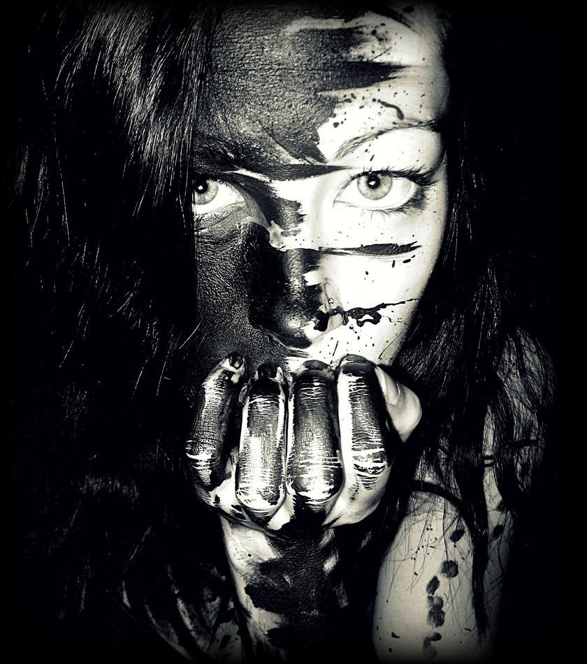 Paint It Black by Numbaholic13