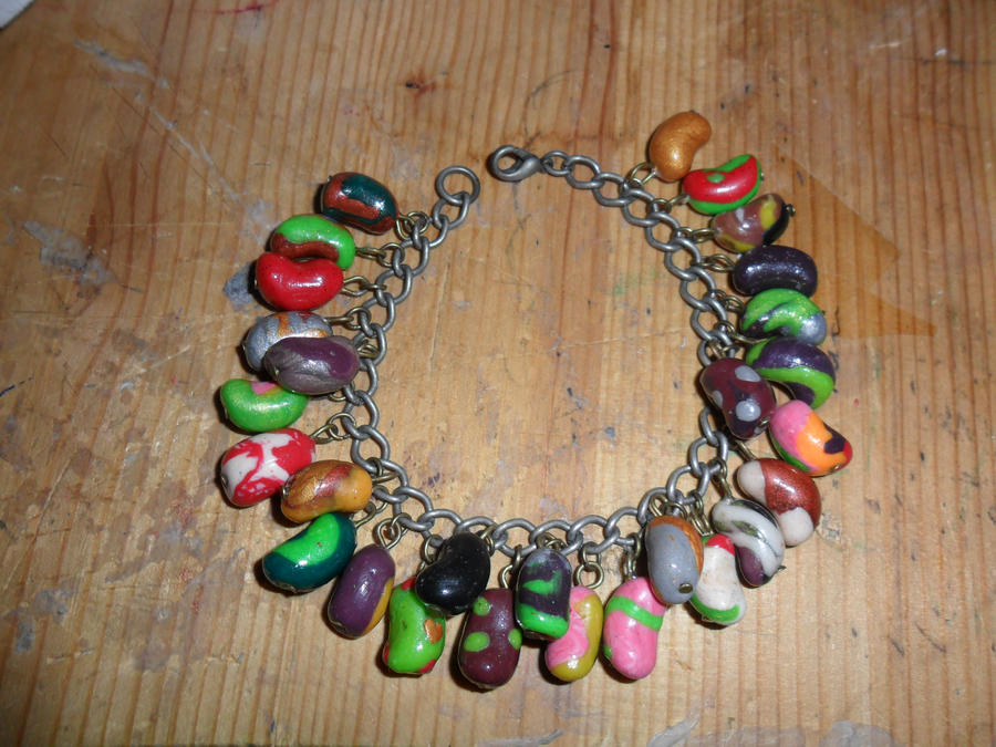 image regarding Bertie Botts Every Flavor Beans Printable titled Each individual Style Bean Attractiveness Bracelet Rates of the Working day