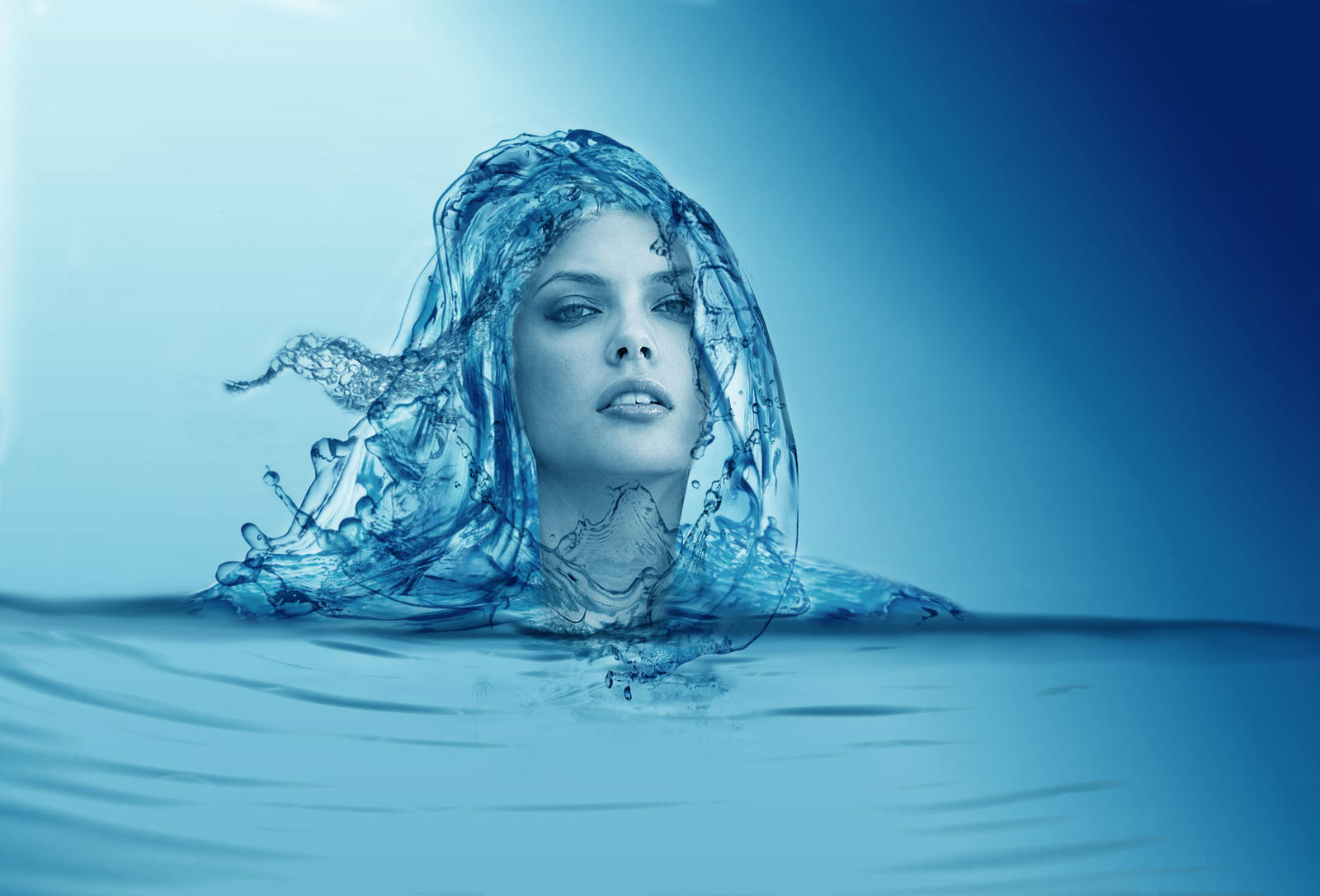 Water Woman By Laurmicheller On Deviantart