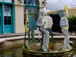 Jazz Music Fountain by RenaissancePurple