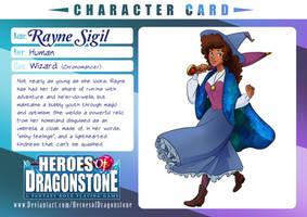 Heroes of Dragonstone - RAYNE ref by GwennieThePooh