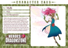 Dragonstone Contest - Melli by GwennieThePooh