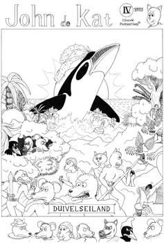 John de Kat: Duivelseiland (1993) - Cover