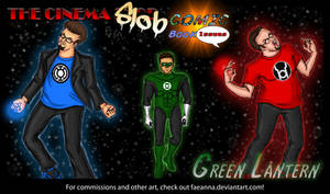 The Cinema Slob: Green Lantern Title Card