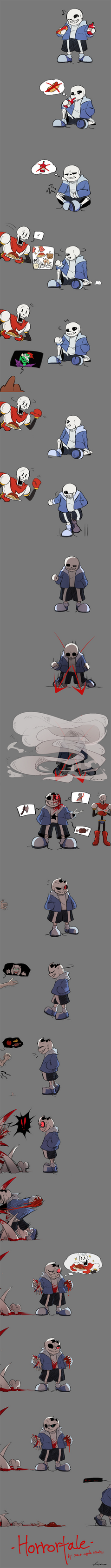 [Horrortale] Remaining Sanity [Mild Spoiler]