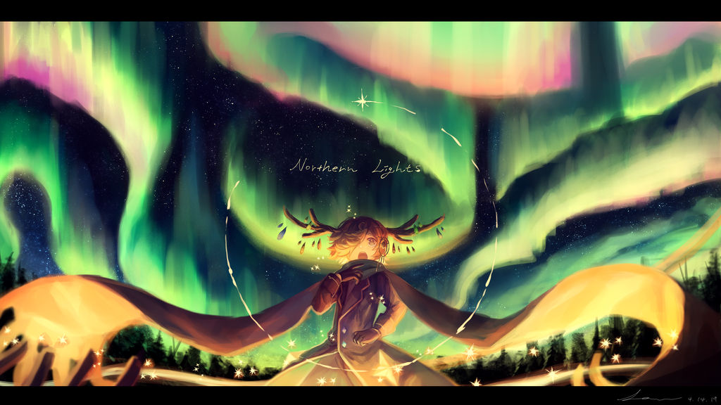 Northern Lights by caphricina