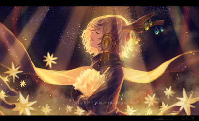 May the Starlight guide your way. by caphricina