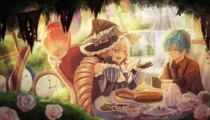 Commission: Cecelia and Cerule