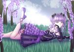 [ + VIDEO ] OC   purple flowers