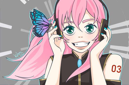 Luka - Vocaloid Redraw