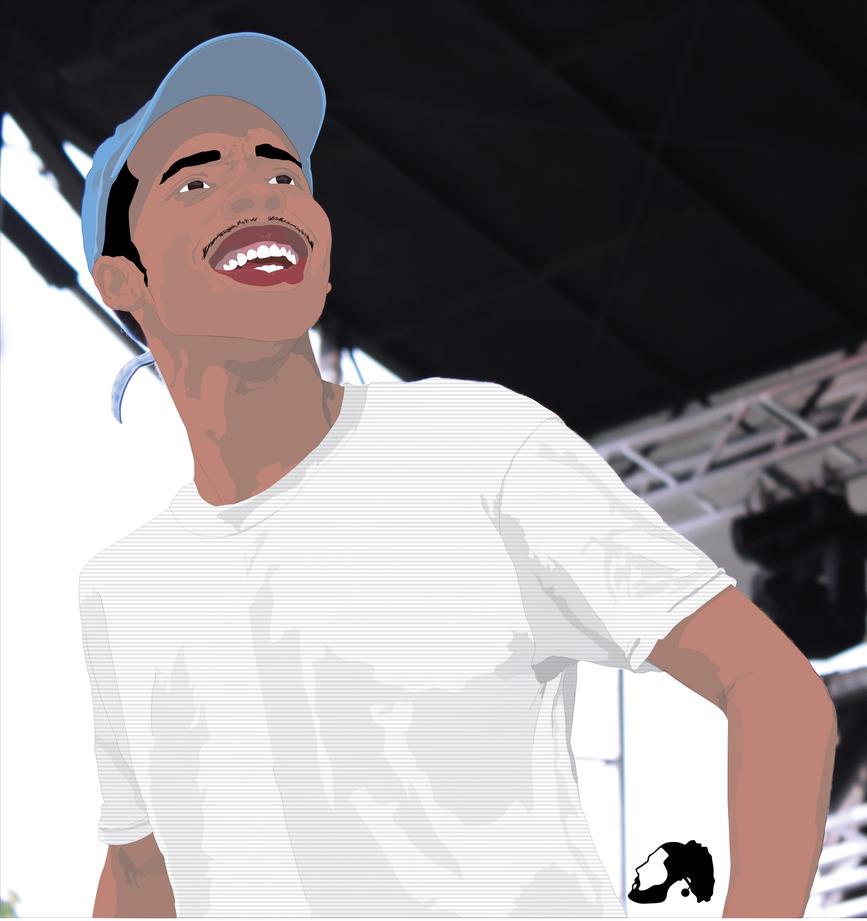 Earl Sweatshirt Portrait By NinjaGKTA
