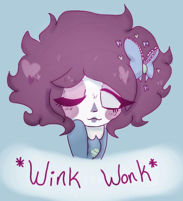 Wonk wink?? by PastelPastryClown