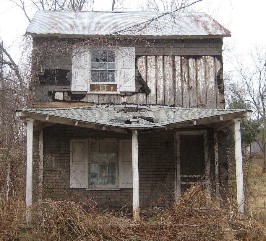 Dilapidated house in va by cjheery on deviantart for House pictures