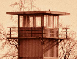 Prison Guard Tower by cjheery