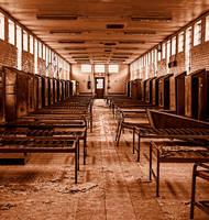 Abandoned Lorton Prison - Dorm by cjheery