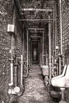 Lorton Prison - Narrow Passageway