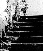 Lorton Prison - Stairs by cjheery