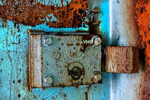 Lorton Prison - Door Hinge by cjheery