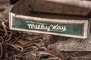 Abandoned Silk Mill, Milky Way by cjheery
