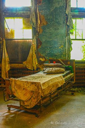 Abandoned Mental Asylum, Bed