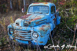 Blue Car by cjheery