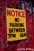 No Parking by cjheery