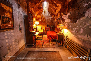 Al Capone's Cell - Eastern State Penitentiary by cjheery
