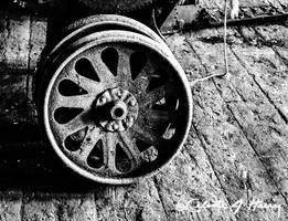 Abandoned Machine Shop - Wheel IV by cjheery