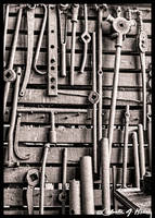 Abandoned Railroad Machine Shop - Tools by cjheery