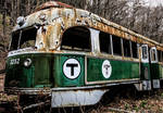 Trolley Graveyard - Boston Train