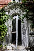 Abandoned Mental Asylum - Doorway by cjheery