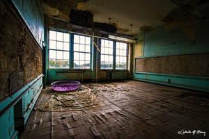 Abandoned School - Classroom III by cjheery