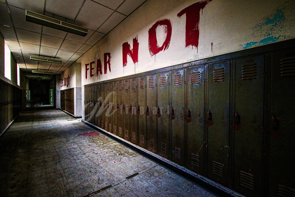 Abandoned School - Fear Not by cjheery