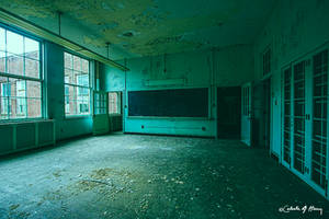 Abandoned School - Classroom I by cjheery