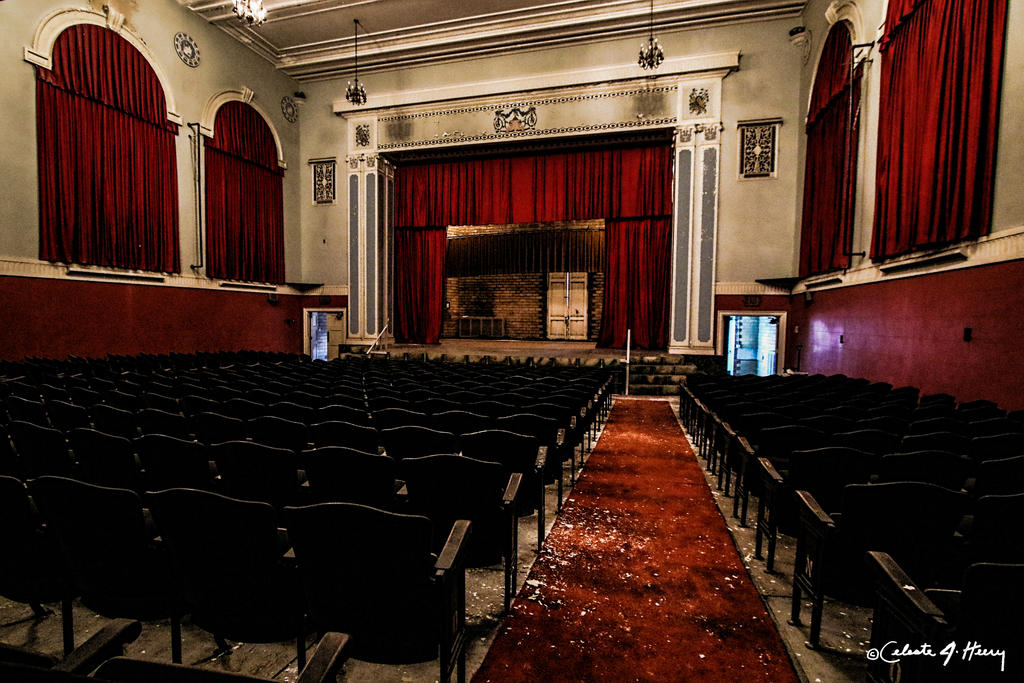 Abandoned School - Auditorium