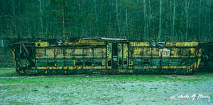 Trolley Graveyard - Upside Down by cjheery