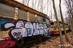 Trolley Graveyard - Graffiti Train II