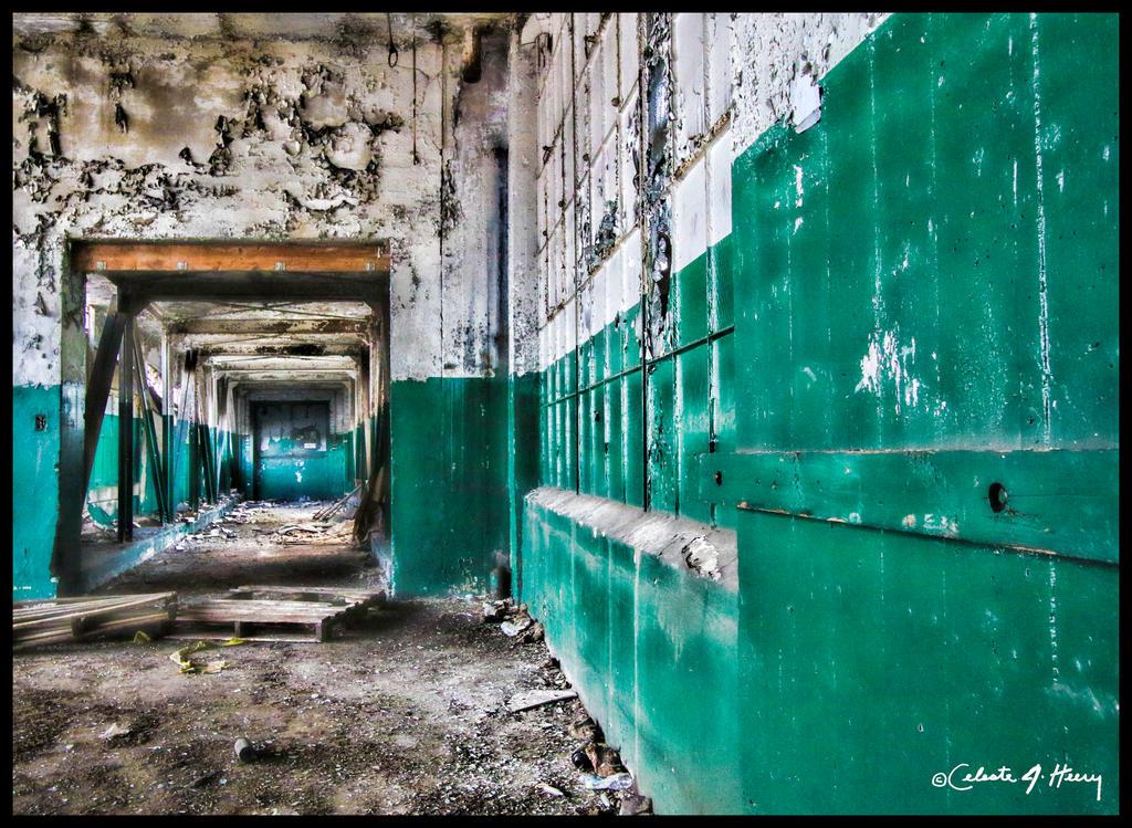 Abandoned Lace Company - Hallway by cjheery