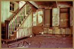 Abandoned Lithograph Company - Stairs
