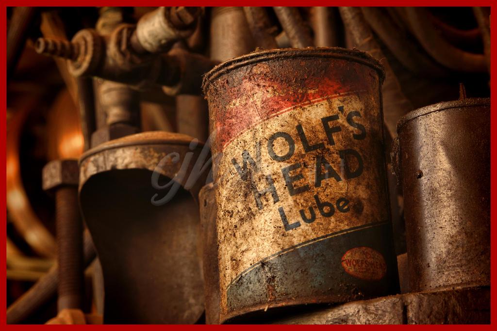 Abandoned Machine Shop - Wolf's Head by cjheery