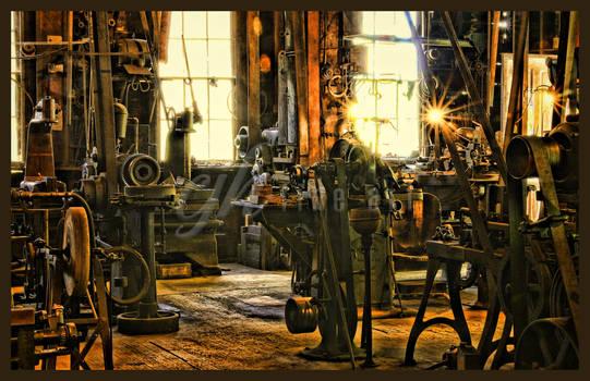 Abandoned Machine Shop - Workshop