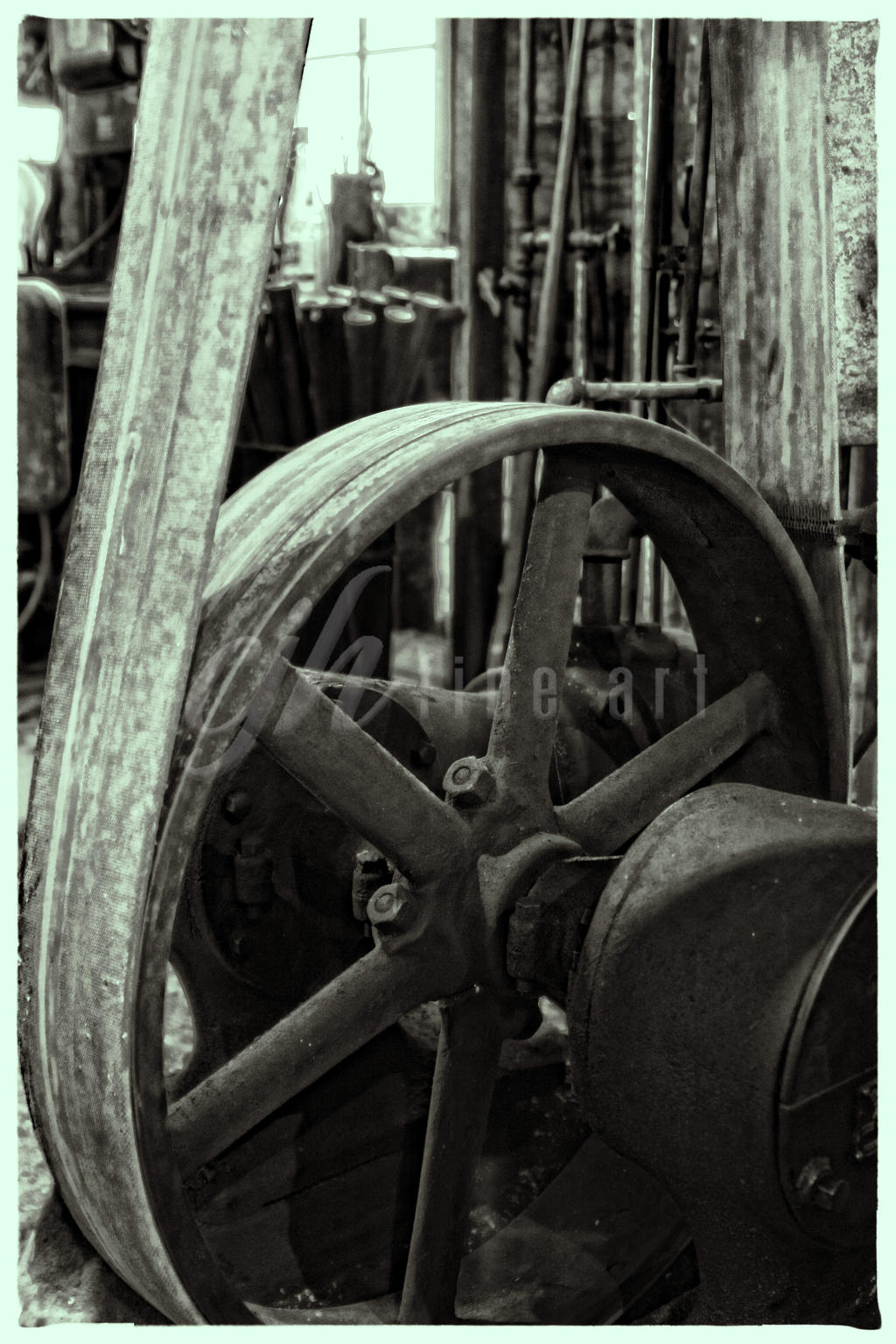 Abandoned Machine Shop - Convey by cjheery
