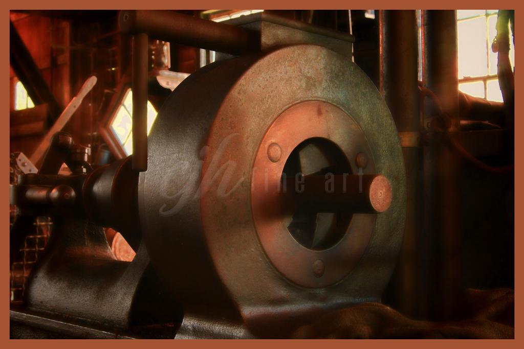 Abandoned Machine Shop - Round by cjheery