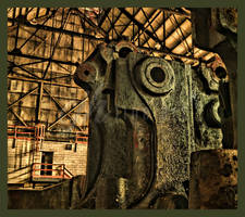 Abandoned Furnace - Scream by cjheery