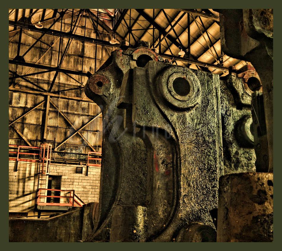 Abandoned Furnace - Scream by cjheery